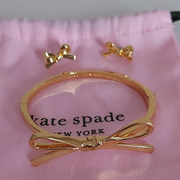 Kate spade bracelet /earring set